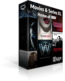12 maanden gratis Movies & Series XL t.w.v. 143,-